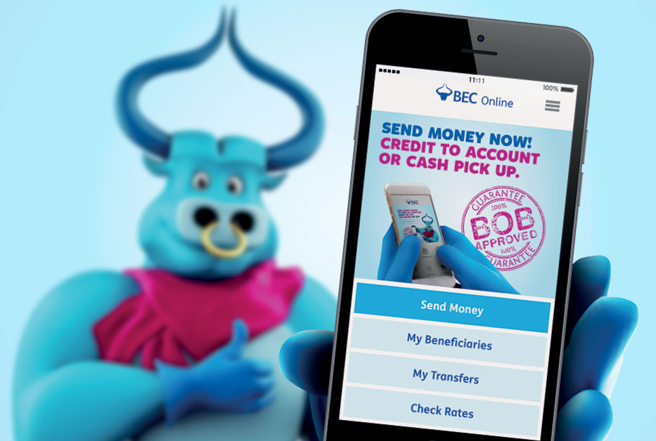 Introducing the new BEC App with Money Transfer