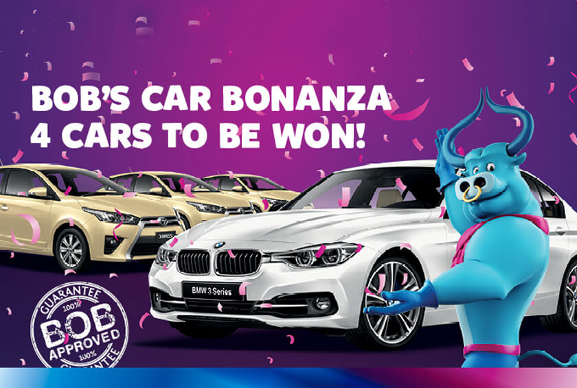 BEC to Giveaway 4 Cars